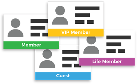 Different questions for different member types using MemberReference